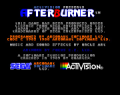 Screenshot for Amiga Game - Afterburner