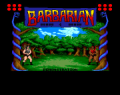 Screenshot for Amiga Game - Barbarian