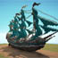 Screenshot image for Collection of Pirate Ships and Galleons - Minecraft World