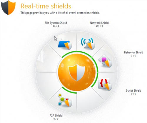 Large screenshot for Avast 7 Free - 2012 Edition