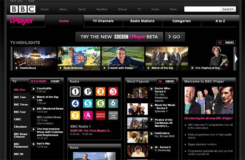 Large screenshot for BBC iPlayer Video