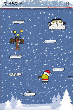 Large screenshot for Doodle Jump iPhone Game