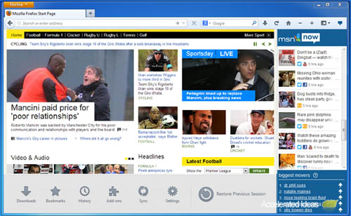 Large screenshot for Firefox 21