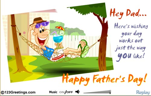 Large screenshot for Free fathers day ecards