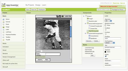 Large screenshot for Google App Inventor