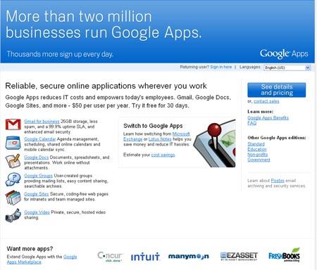Large screenshot for Google Apps Migration for Microsoft Exchange