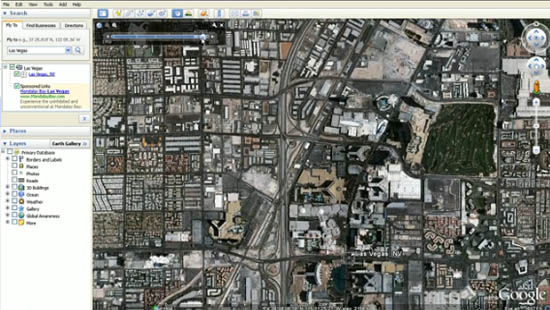 Large screenshot for Google Earth 6