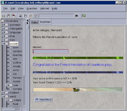 Large screenshot for JLearnIt For Mac