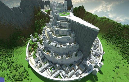 Large screenshot for Lord of the Rings - Minas Tirith - Minecraft World