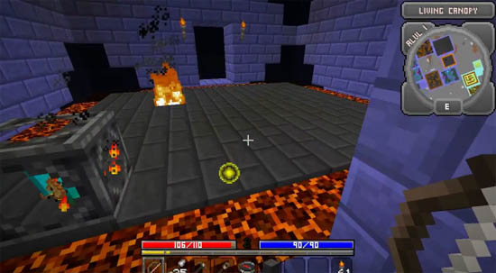 Large screenshot for Minecraft Hack Mine Mod - Diablo RPG for Minecraft