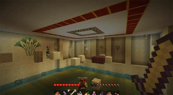 Large screenshot for Minecraft - Pyramid Adventure Map