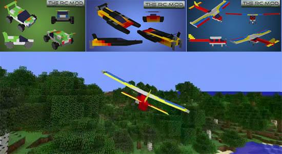 Minecraft Build Your Own Plane Mod