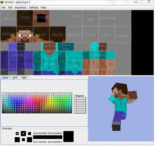 Download 'Minecraft SkinEdit - Create Your Own Minecraft skins'
