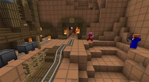 Large screenshot for Minecraft Team Fortress 2 (TF2)