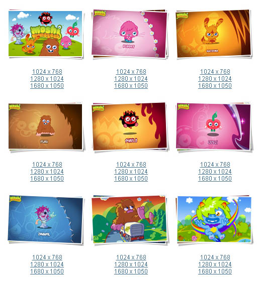Large screenshot for Moshi Monsters and Moshlings Wallpaper