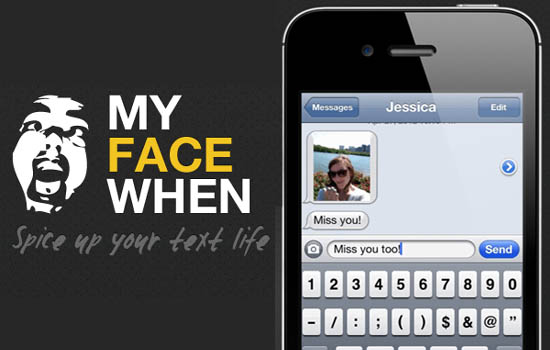 Large screenshot for MyFaceWhen iPhone App - Convert videos into animated gifs