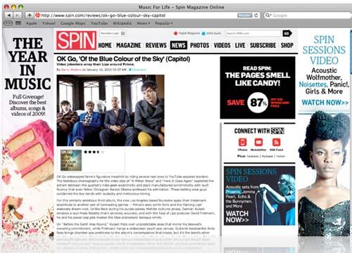 Large screenshot for Safari 5