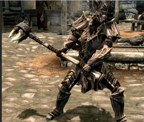 Download Skyrim Dragon Bone Weapons Mod