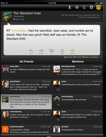 Large screenshot for TweetDeck for Android