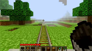 powered rail minecraft