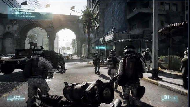 Battlefield 3 Amazing Gameplay Screenshots