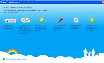 Como importar contatos do MSN ou Hotmail para skype