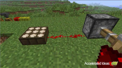 how to make a piston minecraft