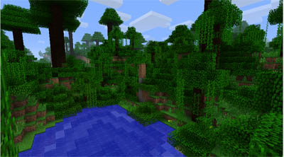 The new Minecraft Jungles!