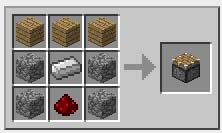 Crafting Recipe For Pistons