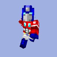 Minecraft Optimus Prime Skin