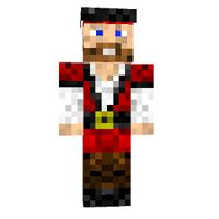 Minecraft Pele a pirata