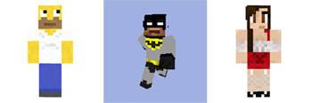 Melhores Imagens dos Personagens e Skins para Minecraft